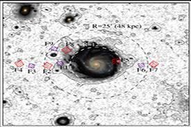 Le halo anémique de la galaxie Messier 101