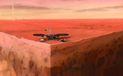 Détection de séismes sur Mars, premiers résultats