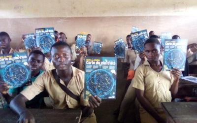 Un club d'astronomie au Bénin: ORION BENIN