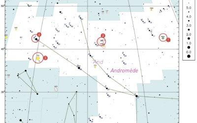 La constellation du trimestre – Andromède