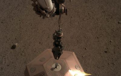 Mars a trouvé son nord à l'aide d'un gnomon